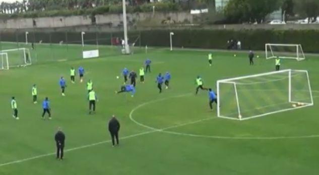 Kololli shënon gol spektakolar në stërvitje me Zurichun