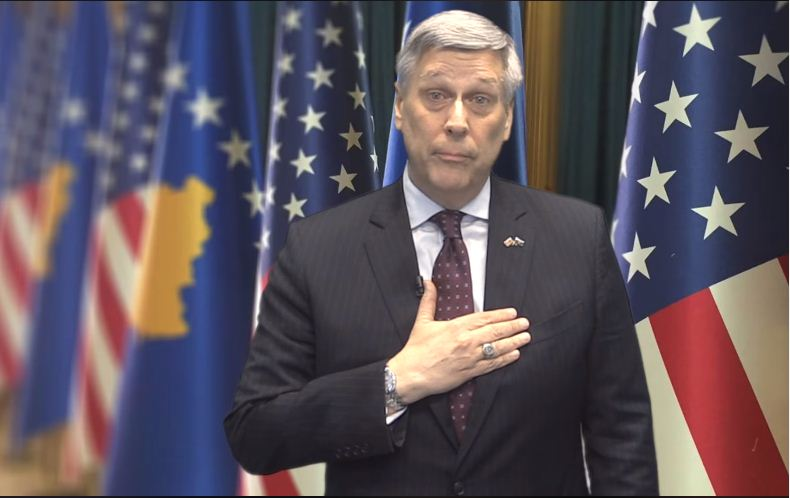 Fjalët e Kosnett për 11 vjetorin e Pavarësisë së Kosovës (Video)