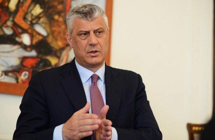 Thaçi paralajmëron rreziqet për Kosovën nëse nuk hiqet taksa