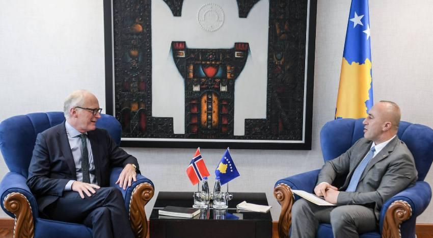 Haradinaj takohet me Eiden, flasin për të ardhmen euro-atlantike