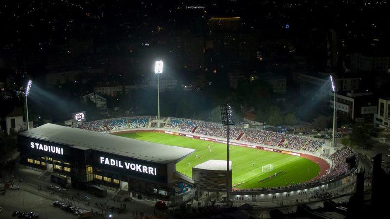 Formacioni zyrtar i Kosovës kundër Danimarkës