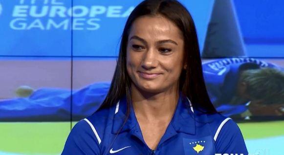 """Majlinda pas fitores: Thjesht desha të tregoj se """"Ne jemi këtu. Këtu është Kosova"""""""