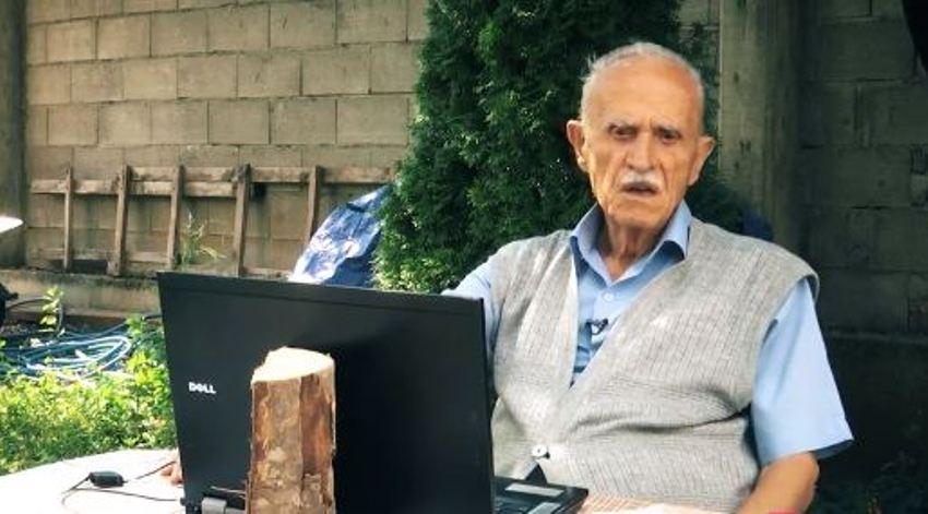 93 vjeçari që përdorë kompjuterin, është aktiv edhe në Facebook