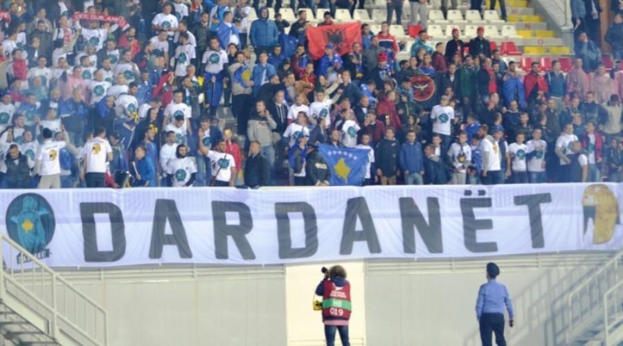 """""""Dardanët"""" dalin me qëndrim për situatën e krijuar në FFK"""