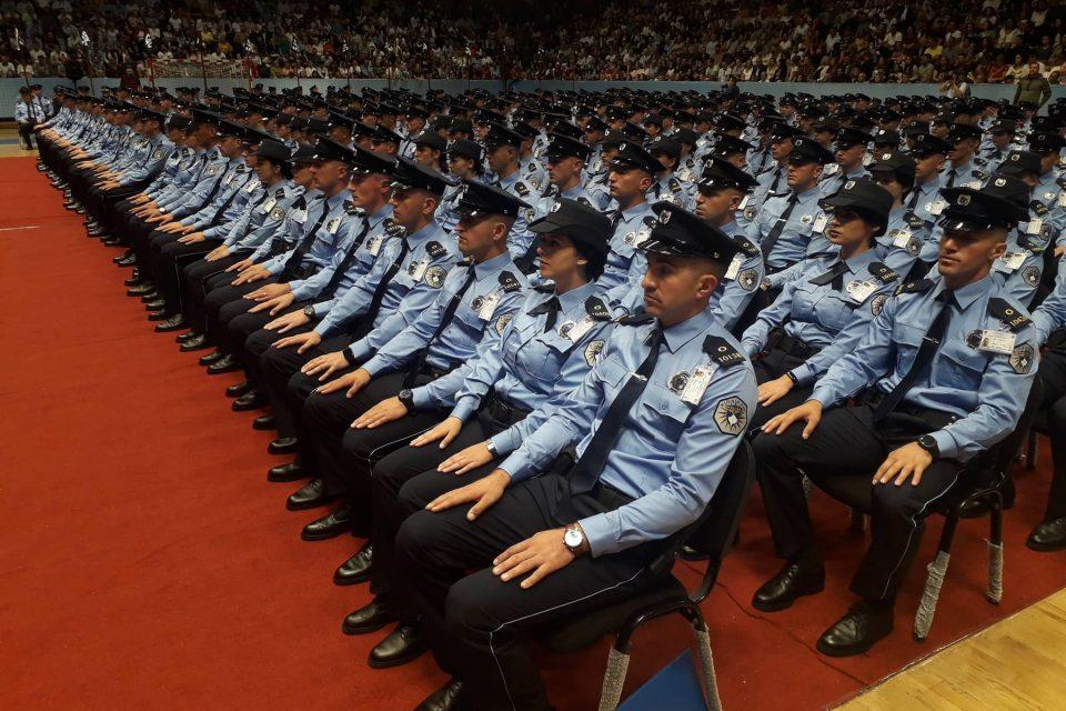 Diplomimi i policëve të rinj, shpërndarja e tyre nëpër rajonet e Kosovës