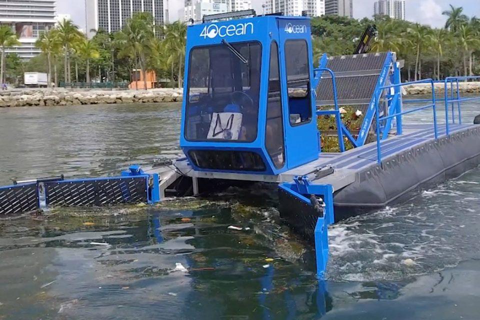 Këto makina të mahnitshme do të shpejtojnë pastrimin e oqeaneve nga plastika