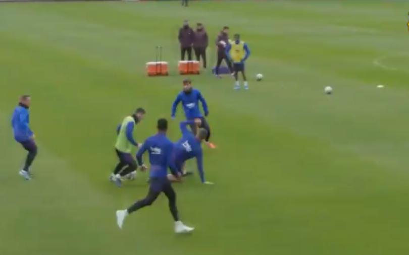 Messi shkatërron bashkëlojtarët në stërvitje