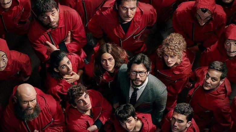 """Po vjen """"La Casa de Papel 4"""", publikohen titujt e episodeve të reja dhe orari i transmetimit"""