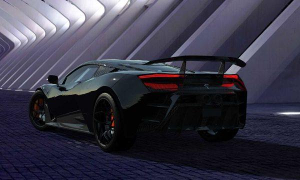 Projektohet supervetura e parë shqiptare, rivale e Lamborghinit dhe Ferrarit