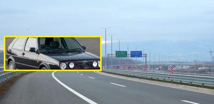 Vozitje në kahje të kundërt, 'Golf 2-shi' i rrezikon të gjithë në komunikacion