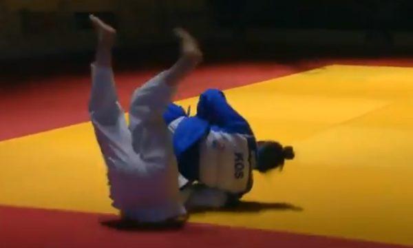 Momenti kur Nora Gjakova fitoi medaljen e bronztë
