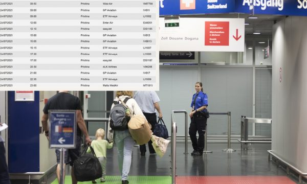"""Aeroporti i Bazelit """"po bëhet një `Kosova Express`"""": Vetëm sot, 15 fluturime drejt Prishtinës"""