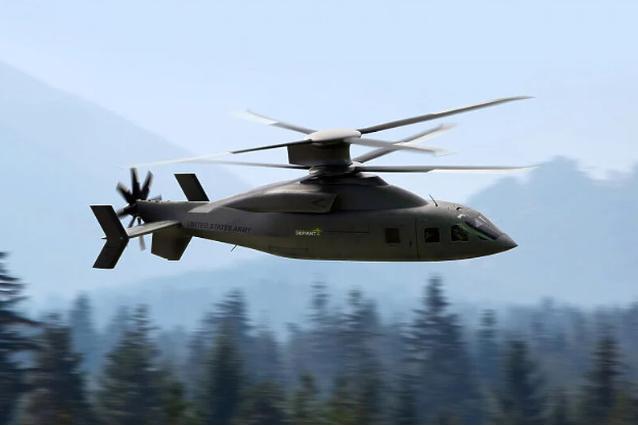 Defiant X është një helikopter ushtarak brutalisht i fuqishëm që mund të zëvendësojë Black Hawk