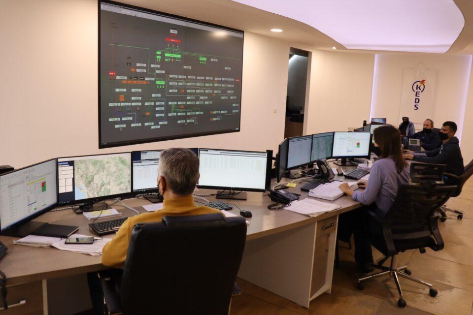 Rrjeti elektrik po monitorohet në kohë reale nga Qendra Dispeçerike e KEDS