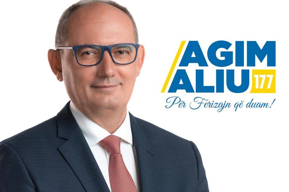 Bizneset e Ferizajt me kryetarin Agim Aliu